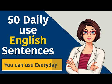 50 Daily use English Sentences You can use Everyday    English Short Sentences Beginners