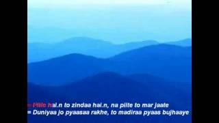 Kishore Kumar - chingari koi bhadke karaoke cover by lokesh purohit