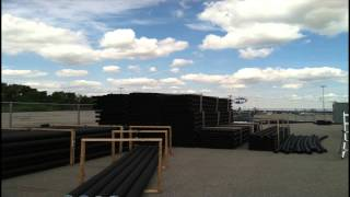 St. Louis Warehouse Provider Creates Cost-Effective Outdoor Storage Solution
