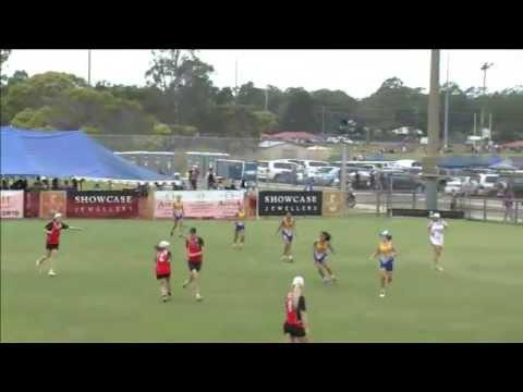2013 Queensland JSC - 16G Girls Rockhampton v Gold Coast (2)