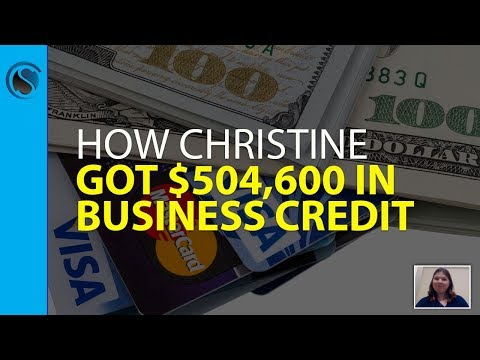 How Christine Got $504,600 in Business Credit Approvals with No Consumer Credit Check or Personal Gu