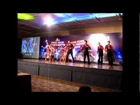 TX Dance Co. Salsa Choreography - La rumba buena