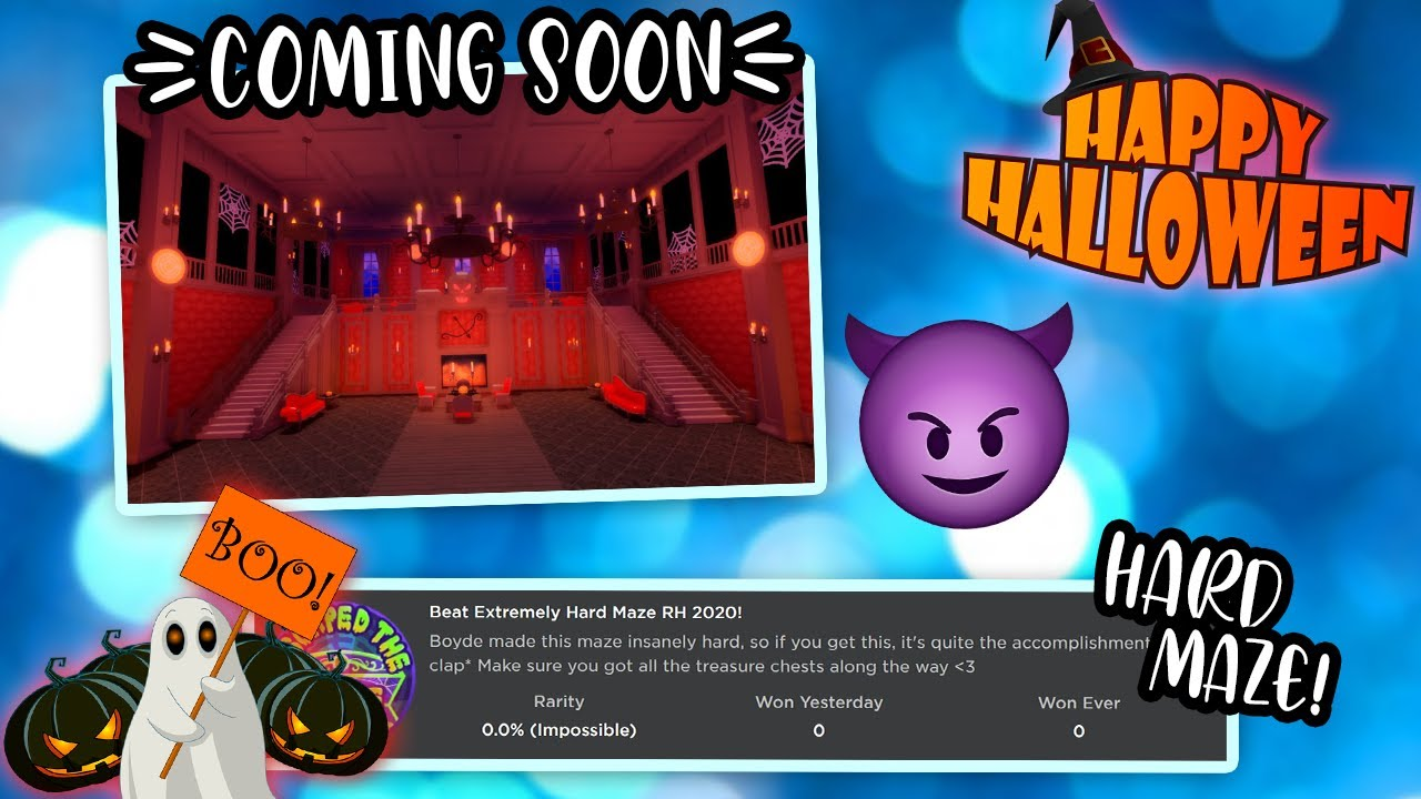 Which Mazes Will Be At   Halloween 2020 ROYALLOWEEN 2020 UPDATE MAY COME TODAY! NEW MAZE BADGE + Giveaway