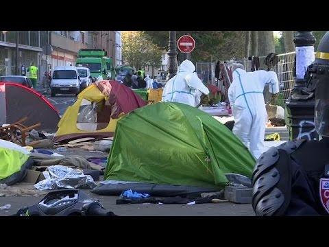 """Французская полиция приступает к зачистке парижских """"джунглей"""" - World"""