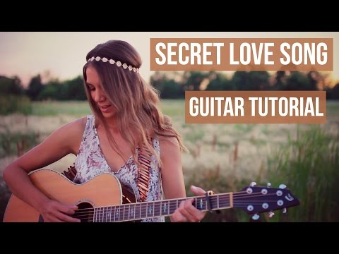 Secret Love Song - Little Mix // Easy Guitar Tutorial