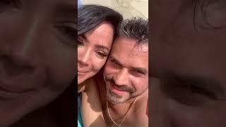 """Norkys Batista y su novio se comprometen en Los Roques posando como """"Adán y Eva"""""""