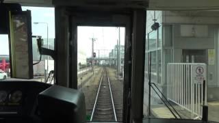 福知山線快速大阪行が北伊丹駅に停車 北伊丹~伊丹