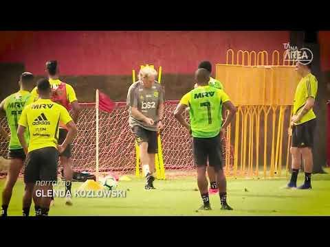 Tá Na Área:Bruno Henrique, Rodrigo Caio, Renê E Vitinho Representam O Flamengo No Futeokê