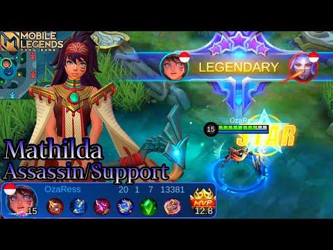 Mathilda Build & Skill Combo - Mobile Legends Bang Bang
