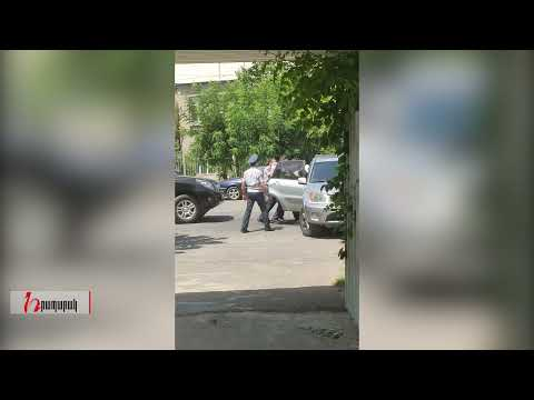 Տեսանյութ.«Հայաստան» դաշինքի շտաբի պետին բռնի ուժ կիրառելով բերման ենթարկեցին