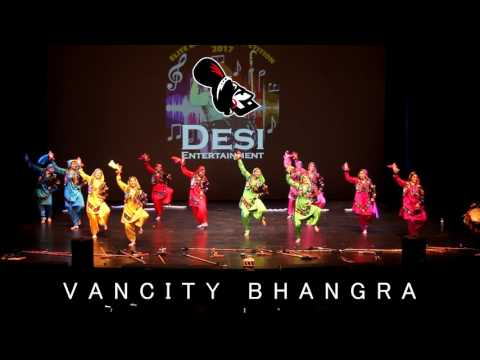 VanCity Bhangra Girls - Elite Bhangra 2017 - FIRST PLACE