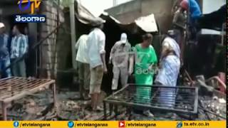 Shop Gutted | in Fire Accident | at Wanaparthy