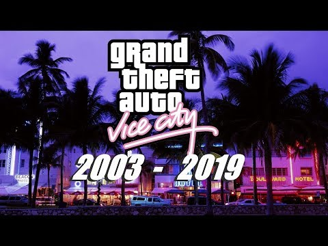 GTA Vice City Graphics Evolution From 2003 To 2019