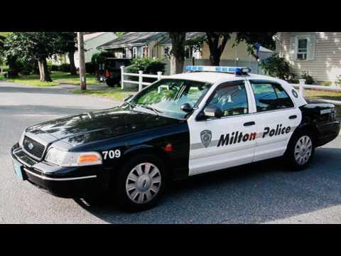 AUDIO: Milton, MA Police Pursuit of Robbery Suspect