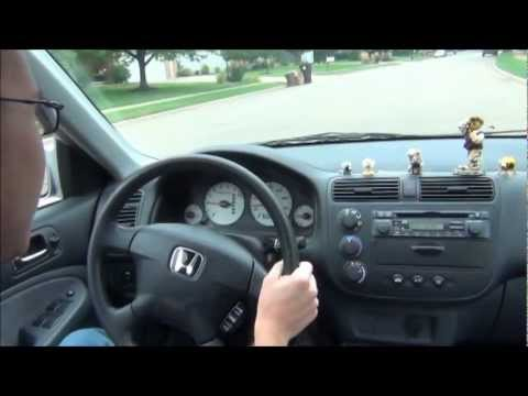 2002 Honda Civic EX Quick Drive  YouTube