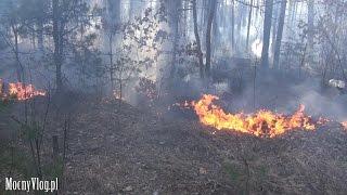 Sławutycz baza na wypady do Czarnobyla. Gasimy pożar lasu - Czarnobyl Vlog #05