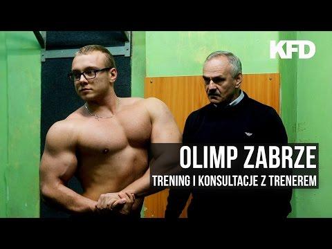Agresywny Michał w Olimp Zabrze - trening i konsultacje - KFD