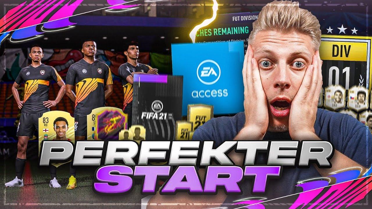FIFA 21:  EA ACCESS!! Der PERFEKTE START + alle TIPPS und TRICKS in Fifa 21 Ultimate Team