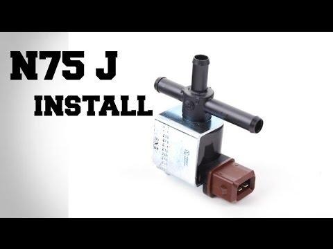 How To Install N75j Jetta Golf Audi 1 8t
