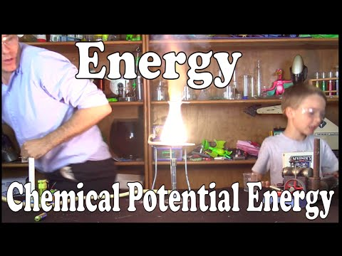 Chemical Potential Energy – Science For Kids