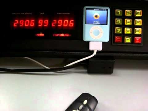 iPod Adapter for the NSM ES V-CD / ES5.1 Jukebox