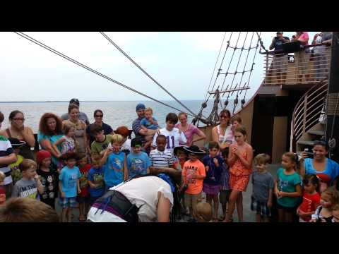 Destin - Pirate Ship - Sharing The Treasure