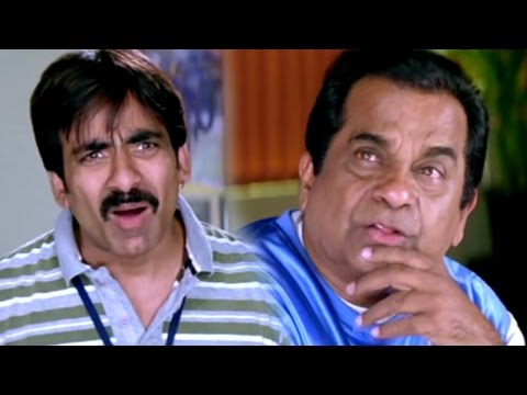 Ravi teja  & Brahmanandam Hilarious Comedy Scenes || Anjaneyulu Movie