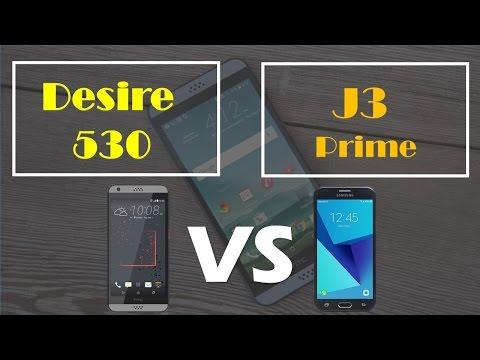HTC Desire 530 VS samsung J3 prime metro PCS