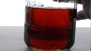 Blending Lamp Oil with vegetable oil to make VO Blend Diesel Fuel