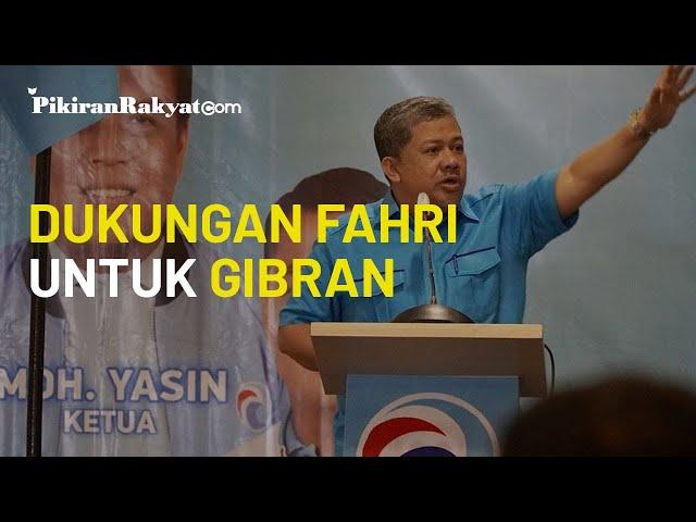 Partai Gelora Bela Gibran usai Kritik soal Reputasi Jokowi, Fahri Hamzah: Pilkada Bukan Dinasti