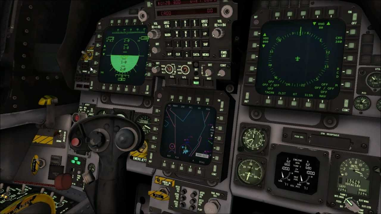 Group of 22 Cockpit Iris Simulations