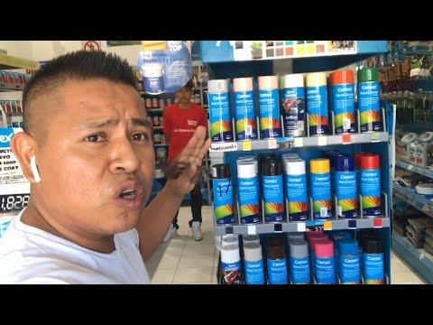 Comprando Pinturas Comex Spray Aerosoles