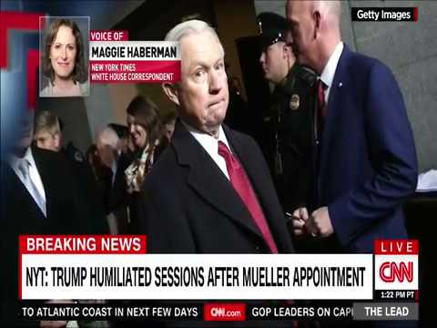 President Trump HUMMILIATED Jeff Sessions after  Mueller appointment