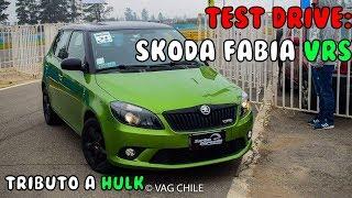 Test Drive: Skoda Fabia vRS - TRIBUTO A HULK - Review en Español