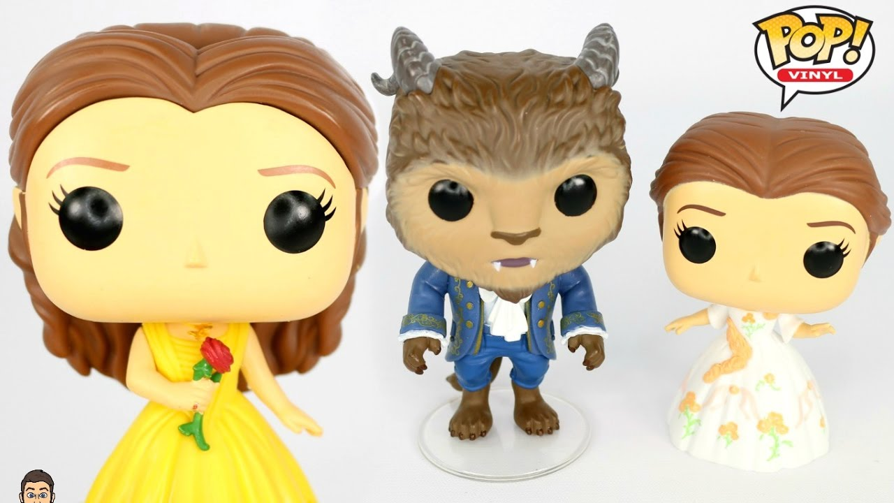 Disney FUNKO POP! Beauty & The Beast Live Action UNBOXING ...