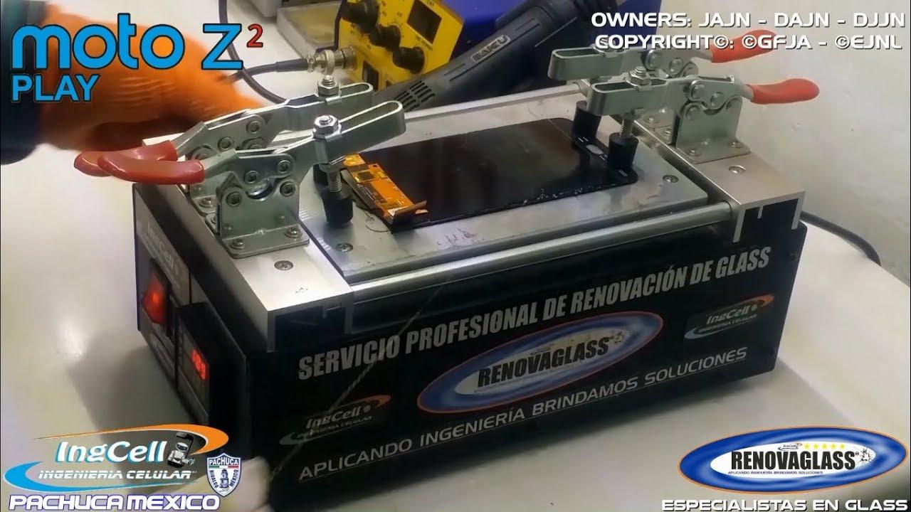 6fc87dfa881 Reparación Cambio de Glass MOTO Z2 PLAY   Change Glass Replacement ...