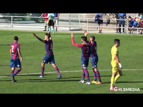 Atletico Levante UD 4 - 1 CF Badalona 2016/17.