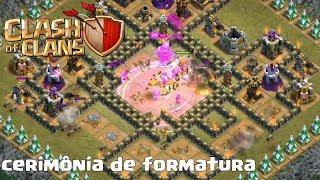 NOVAS FASES DO MAPA DO MODO CAMPANHA NO CLASH OF CLANS - CERIMÔNIA DE FORMATURA ‹ Fernando099 ›