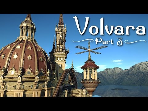 Planet Coaster - Volvara (Part 3) - Giant Classical Dome