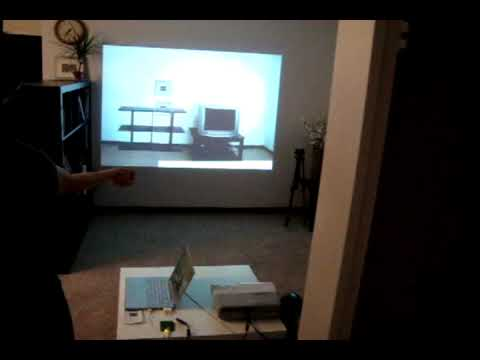 Virtual Wall (Wiimote+RFID+Processing+Flash)