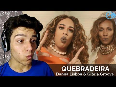 Danna Lisboa - Quebradeira (Feat. Gloria Groove) Reaction / Reação