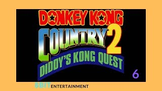 Lets Play Donkey Kong Country 2 Part 6 K. Rool's Keep