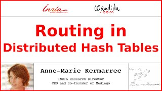 Routing in Distributed Hash Tables