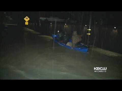 Relentless Rain Causes Flooding, Prompts Rescues