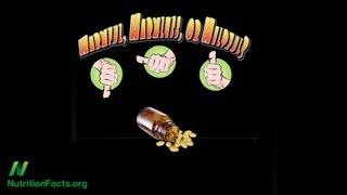 Antioxidant Vitamin Supplements