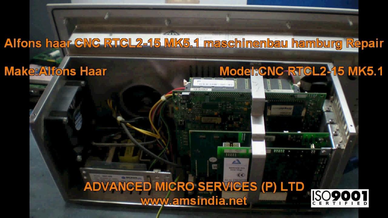 Alfons haar CNC RTCL2-15 MK5.1 Maschinenbau Hamburg Repairs   Advanced  Micro Services Pvt.Ltd 0e2ee5acbb1