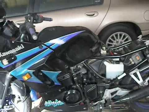 Ninja 250 Fairing Removal