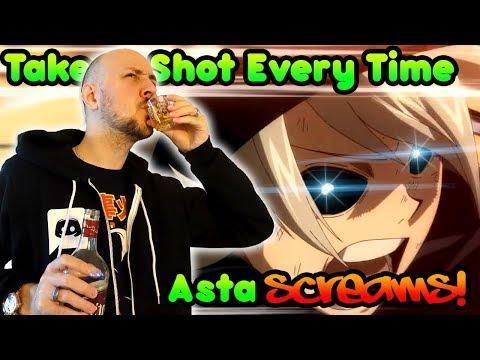 Black Clover Episode 1 But I Take A Shot Every Time Asta Screams