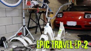 Epic travel ciao edition - EP.2 Lo smontaggio completo del piaggio ciao PV