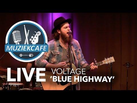 Voltage - 'Blue Highway' live bij Muziekcafé
